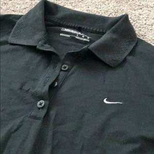 Nike Tops - Nike Golf long sleeve Polo - like new